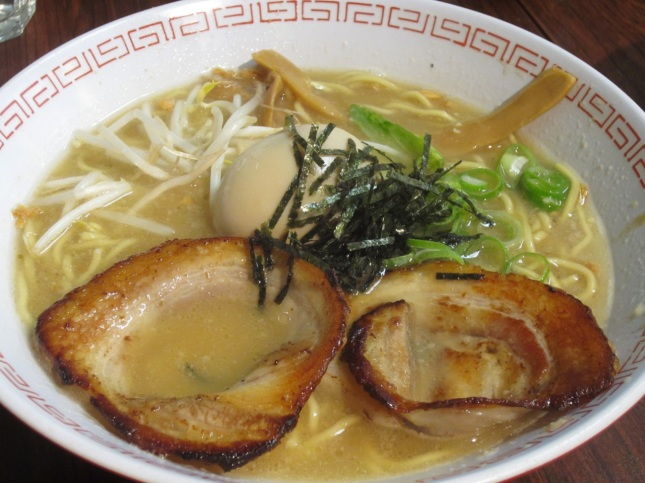Oiriginal reipe ramen (pork and shoyu)