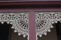 Wrought iron fretwork was frequently used in Queenscliff architecture.