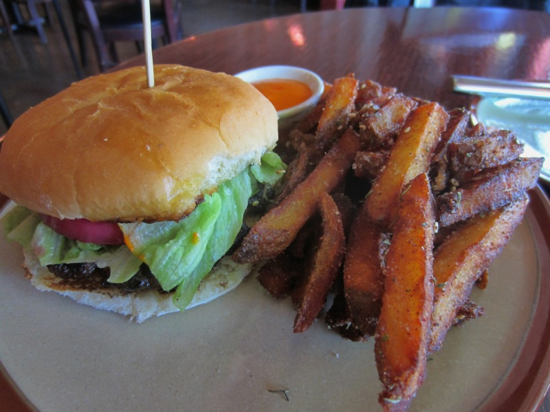 Mini Burger with Spiced French Fries