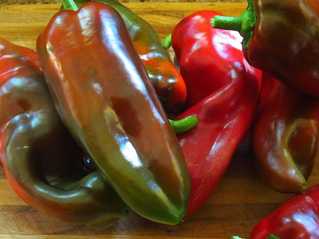 Corno di toro peppers