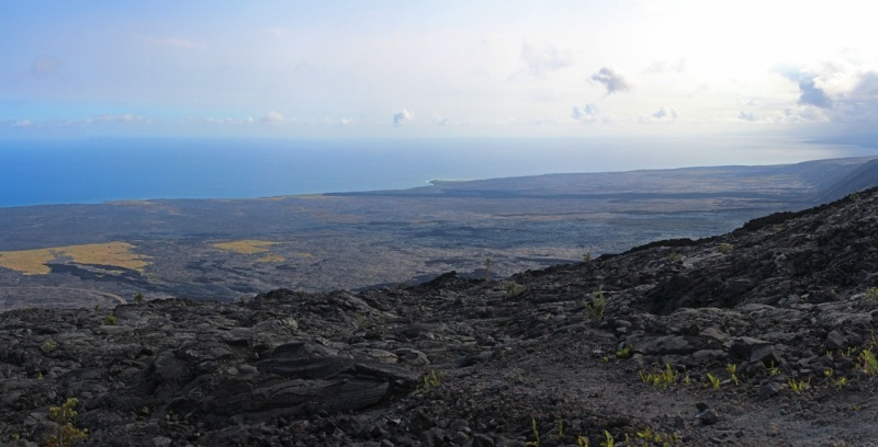 lava out to sea