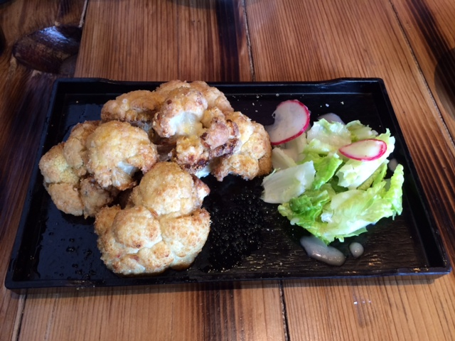 Cauliflower karaage