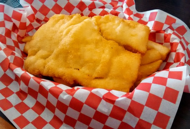 Arctic cod fish n' chips