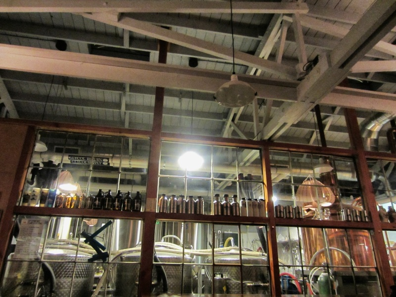 Copper brewing equipment