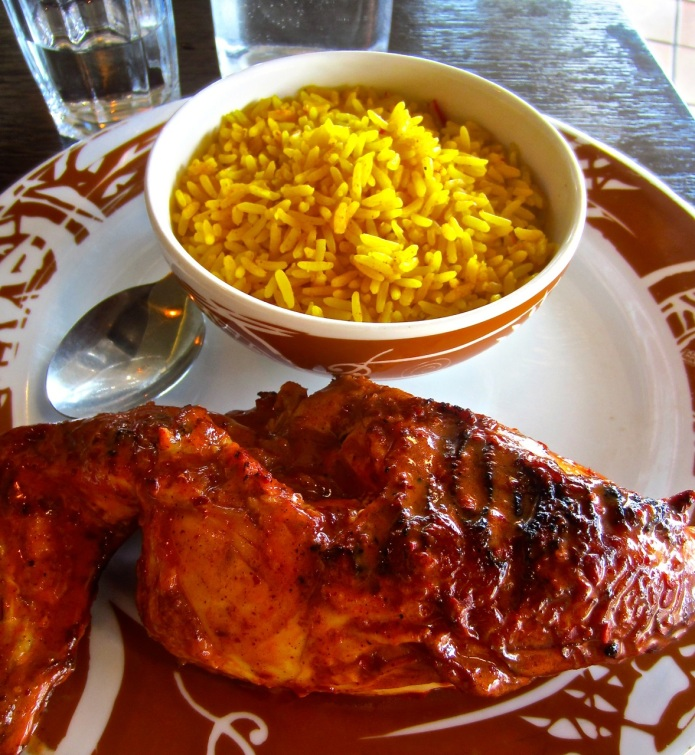 Peri Peri Chicken At Nandos Christchurch Nz Zoomeboshi
