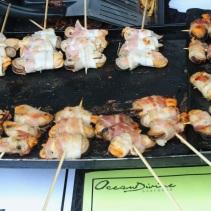 Mussel kebabs (Ocean Divine Seafoods)