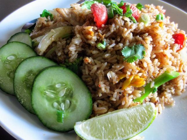 Pop Pop fried rice