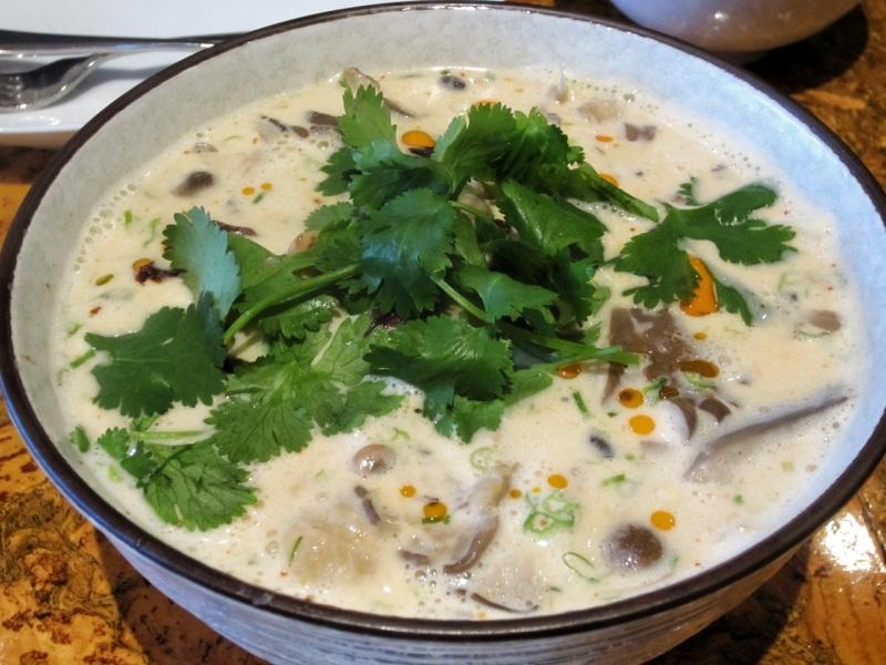 Coconut Mushroom Soup