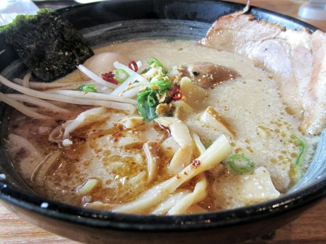 Kukai's Garlic Tonkotsu Shoyu Ramen
