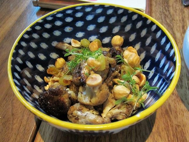 Roasted Cauliflower with Oregon Hazelnuts