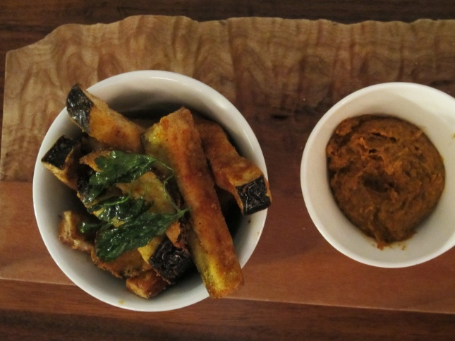 berenjena (fried eggplant)