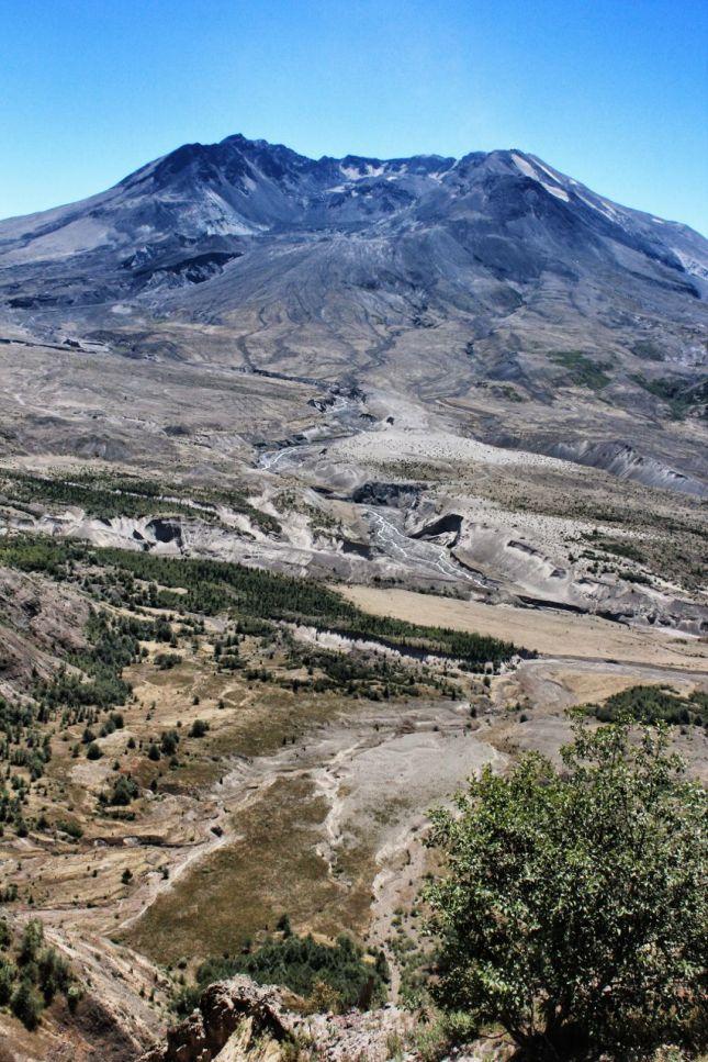 North face, Mount St. Helens, Johnson Ridge Observatory