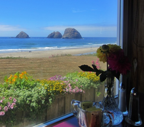 Three Arch Rocks from Roseanna's (Oceanside, OR)
