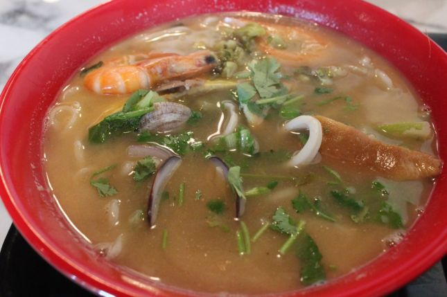 Chinese Seafood Noodle