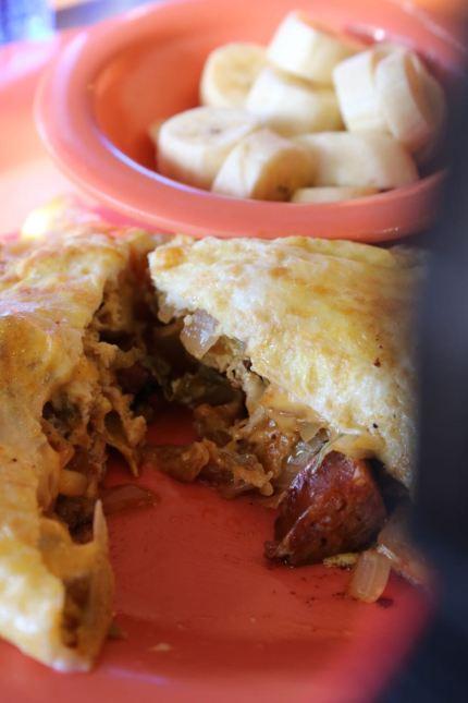 Polynesian Omelette