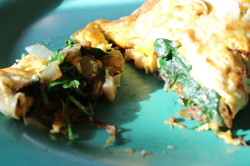 Luau Omelette