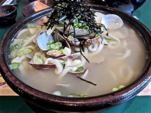 Manila clam kal guk su