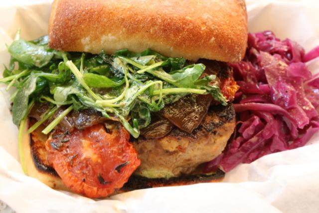 Nosh's meatloaf sandwich
