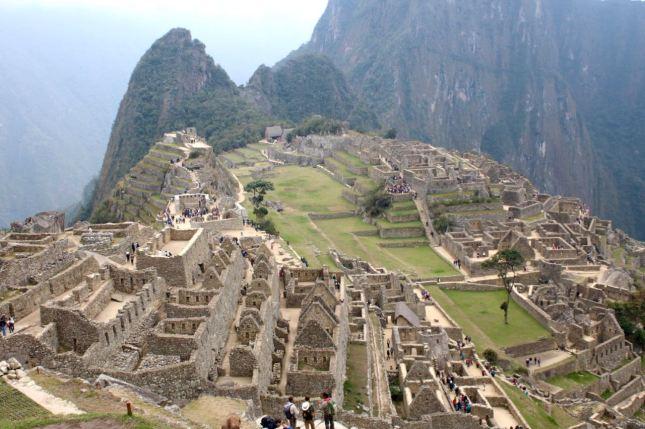 Most of Machu Picchu is Ukun Pacha