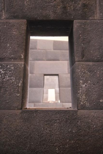 Precise alignment, Qoriqancha, Cusco