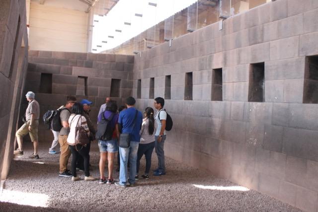 Evenly spaced trapezoidal niches, Qoriqancha, Cusco