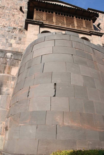 Curved wall, Qoriquancha, Cusco