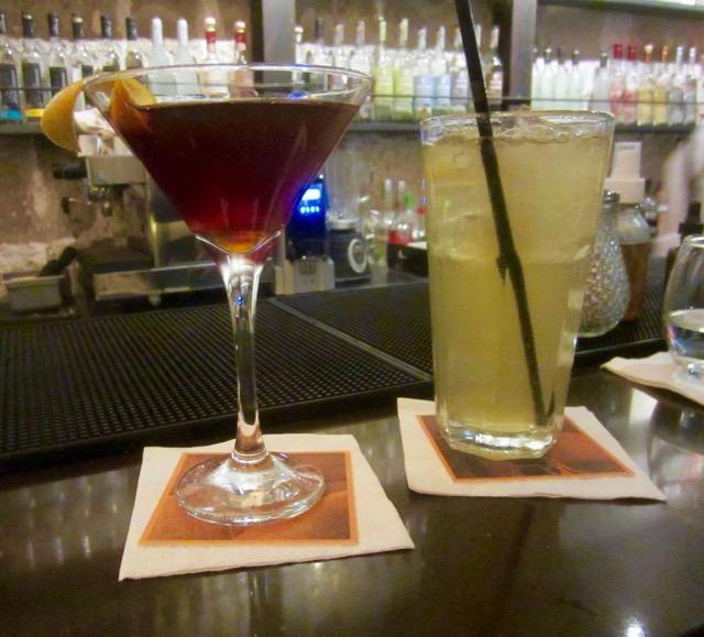 Capitan, Chilcana pisco cocktails