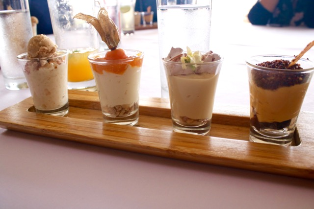 Desserts at Huaca Pucllana Restaurant