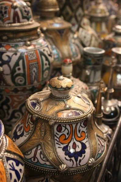Ceramics showroom, Fes