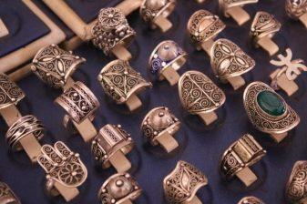 Rings, Maalem Ali Center of Artisal Jewelers, Essaouira