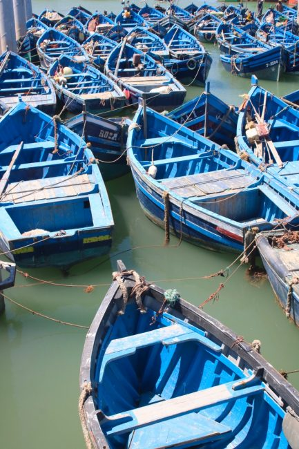 Fishing boats, Essaouira