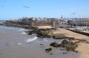 Shoreline and City Walls, Essaouira