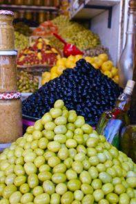 Olive souk, Marrakech medina