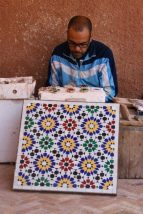 Zellij craftsman, Marrakech