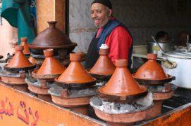 Tajine stand, Marrakech