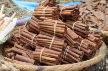 Cinnamon stick bundles, Marrakech medina